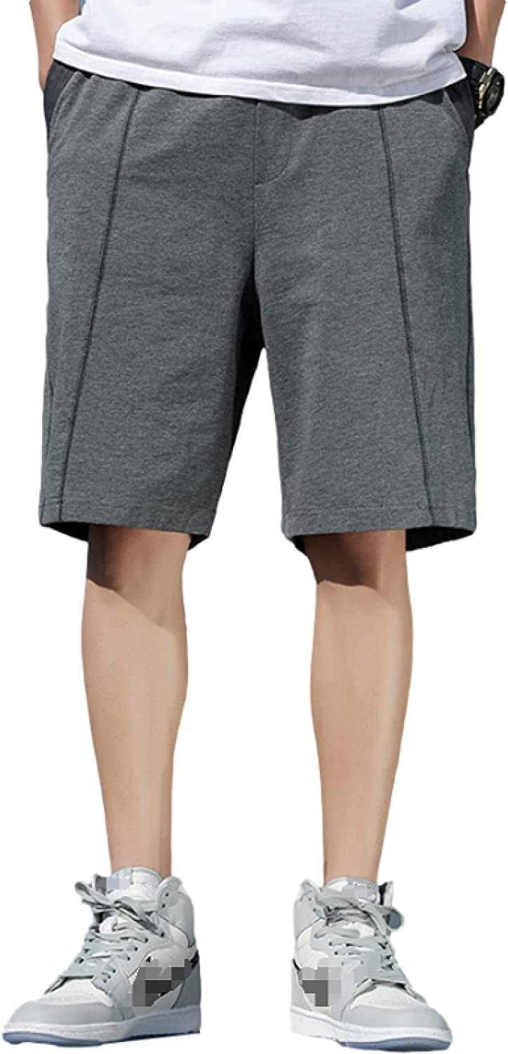 Men's Casual Plus Size Stitching Shorts Fashion Trend Comfortable All-Match