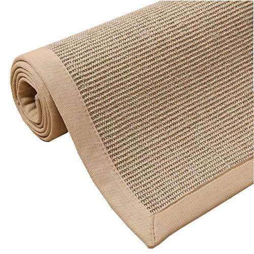 RUIRUI Anti-Slip tapijten Deurmatten Woonkamer Natuurlijke Sisal Slijtvaste Tapijt Lange Tropische Tapijten Woonkamer Tapijten Vloermatten (Kleur : I, Maat : 1x1.5m)