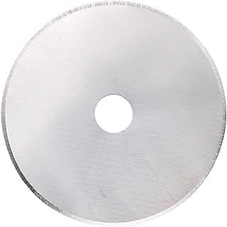 HONJIE 60mm 10 Pack Rotary Cutter Blades Fits OLFA,Fiskars,Truecut,DAFA Cutter Replacement, Quilting Scrapbooking Sewing A...