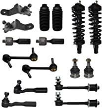 New Complete 16-Piece Front Suspension Kit- Both (2) Struts Assembly, All (4) Front Ball Joints, All (4) Sway Bar Links, All (4) Tie Rod, 2 Tie Rod Boots for 96-02 Toyota 4Runner 4WD V6 Only