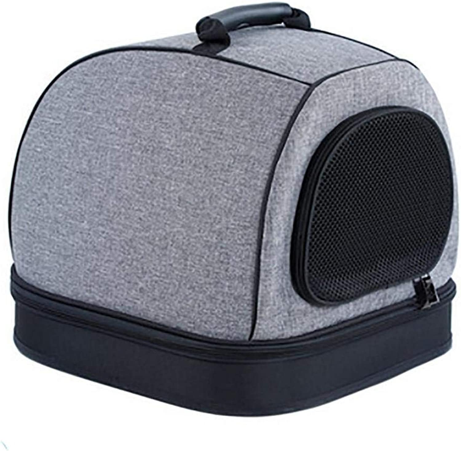IF.HLMF Foldable Pet Carrier Travel Kennel Cat Backpack House for Small Animals