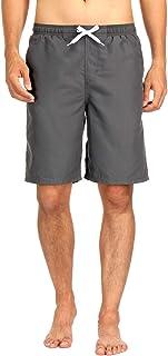Charmo Men's Board Shorts Drawstring Swim Trunks Surf Beach Pants Quick Dry Swimwear