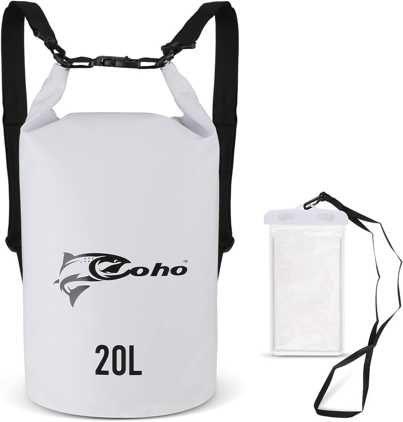 COHO Waterproof Dry Max 75% OFF Bag 20L with Backpack 5 ☆ popular Case Phone
