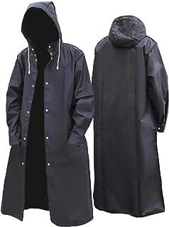 N\C Adult Rain Poncho, Rain Jackets Reusable Rain Poncho, Raincoat Long Full Body Men's Fashion Waterproof Siamese Unique ...