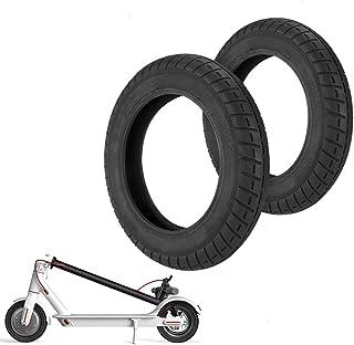 Konesky Neumático para Patinete Electrico Reforma de DIY 10 Pulgadas Ruedas de Reemplazo Antideslizamiento Scooter Eléctrico Compatible con Xiaomi M365