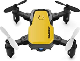 SIMREX X300C 8816 Mini Drone with Camera WiFi HD FPV Foldable RC Quadcopter Rtf 4CH 2.4Ghz Remote...