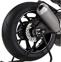 Puig 8431B White Swing Arm Protector (Ducati Monster 821 14')