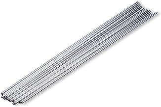 Lot de 5 barres cylindriques en acier inoxydable pour mod/élisme t/él/écommand/é 300 mm x 3 mm