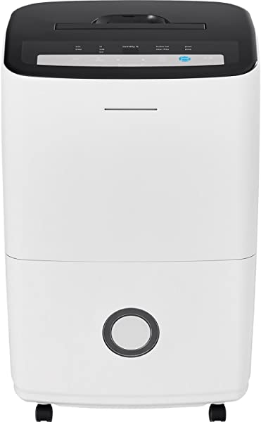 FRIGIDAIRE High Efficiency 70 Pint Dehumidifier With Built In Pump In White