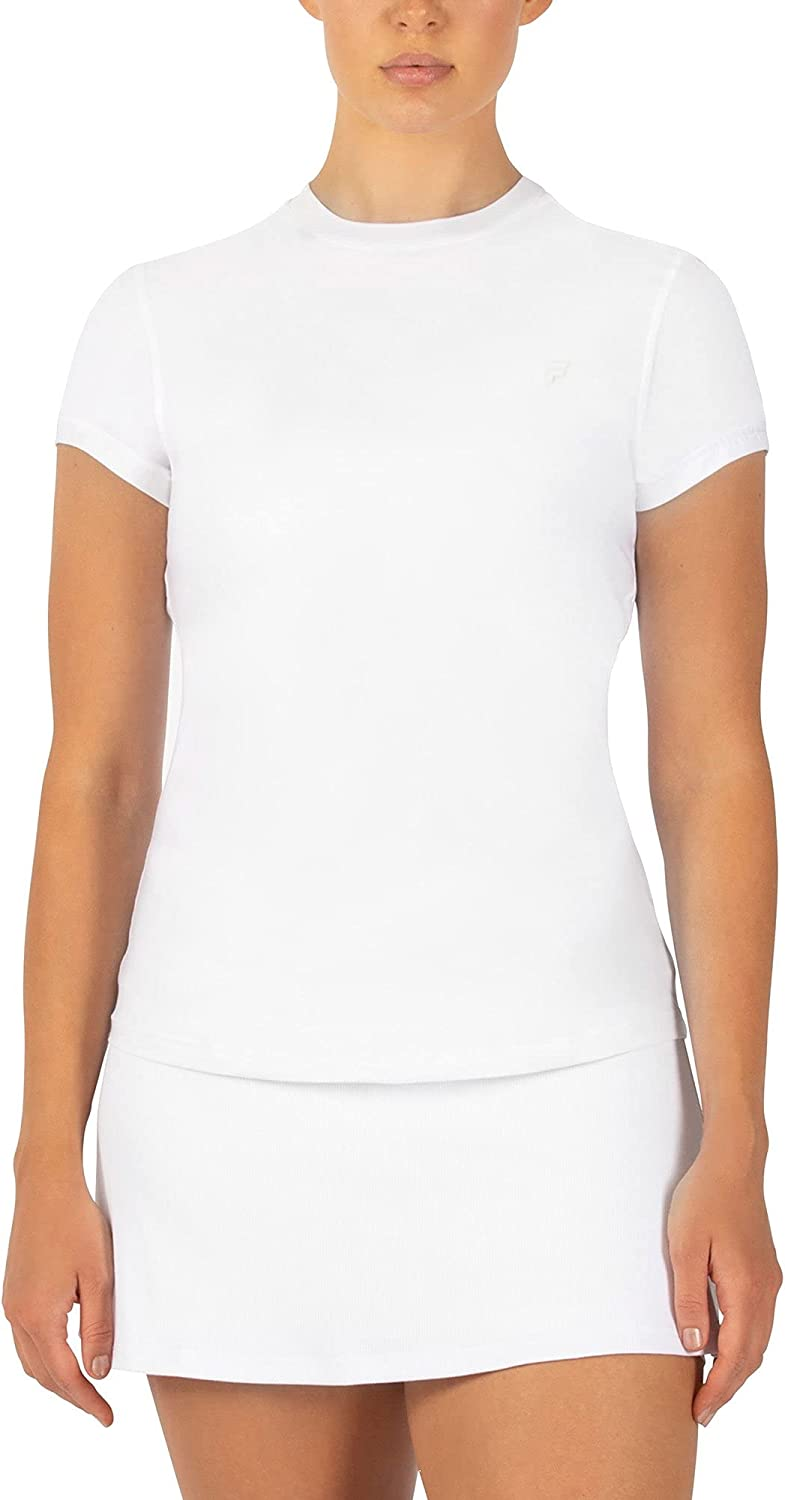 Fila Ranking TOP17 White Line Collection 4 years warranty Shirt Womens Tennis