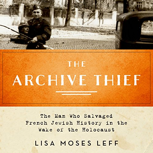 The Archive Thief audiobook cover art