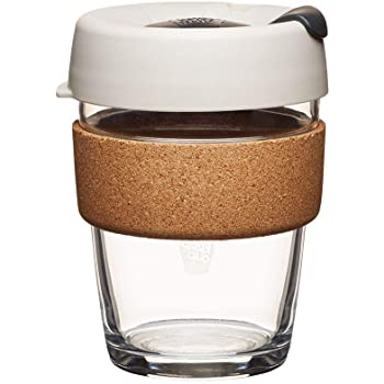 KeepCup 12oz Reusable Coffee Cup Toughened Glass Cup
