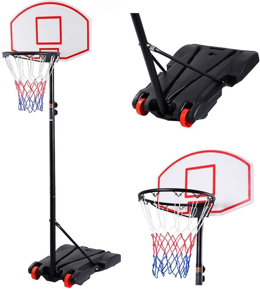 Cirocco 7 Feet Height Lowest price challenge Adjustable Stand Hoop safety Backboard Basketball