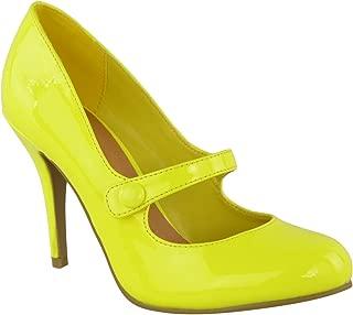Best yellow high heel court shoes Reviews