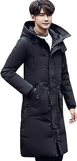 ODFMCE ダウンコート メンズ ロング ダウンジャケット コート 秋冬 防寒 厚手 通勤 通学 大きいサイズ