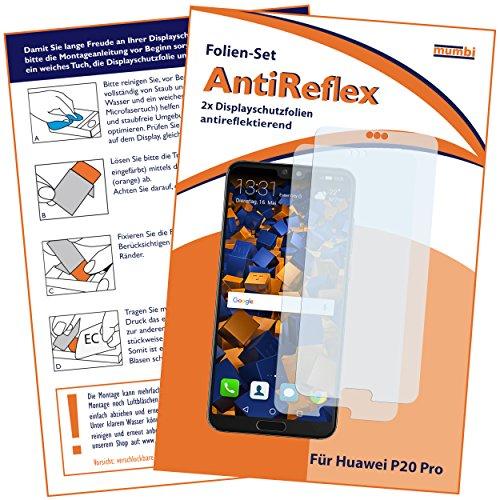 mumbi Schutzfolie kompatibel mit Huawei P20 Pro Folie matt, Displayschutzfolie (2X)