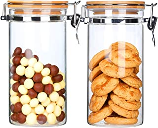 glass candy jars with lids