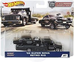 HW Hotwheels FYT09 Car Culture Team Transport '66 Super Nova Retro Rig