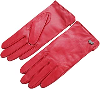 Nappa Leather Gloves Warm Lining Winter Multicolor Lambskin for Women