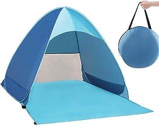QcoQce Tente Anti UV, Abri de Plage avec Protection Solaire UV UPF 50+ pour 2-3..