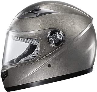 Lxhff JIE KE Fully Covered Helmet,Motorcycle Anti-Fog Can Be Flipped Visor Thickened Helmet for Adults