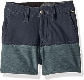 "Volcom boys Snt Block 13.5"" Hybrid 4 Way Stretch Short Little Boys Casual Shorts"
