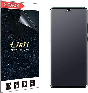 J&D Compatible para 3-Pack Protector de Pantalla para Huawei P30 Pro/Huawei P30 Pro New Edition, [Anti reflejante] [NO Cob...