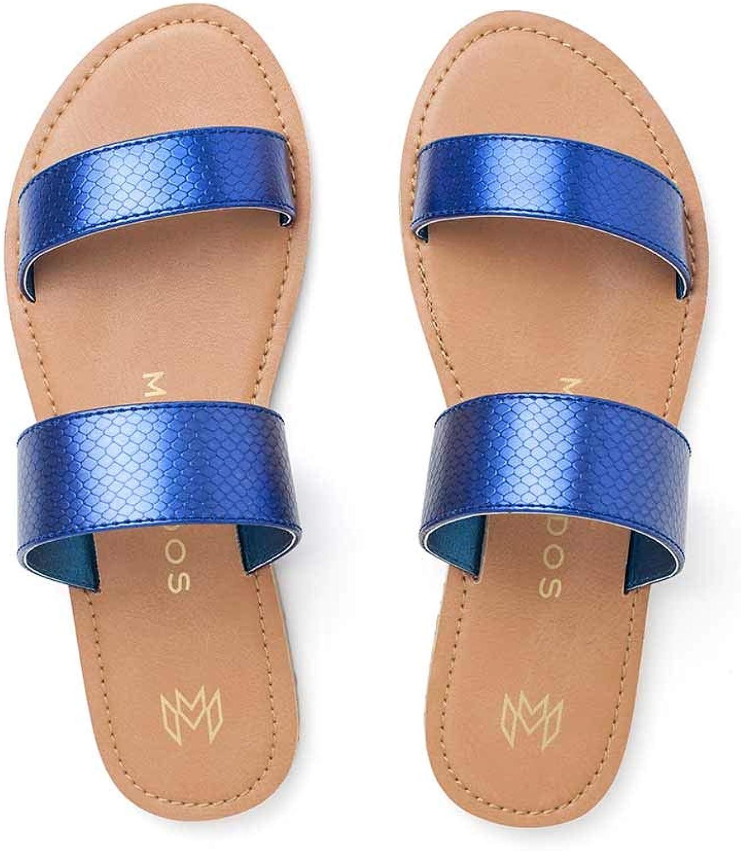 Malvados Sandals Azure Azalea Reptile Sandal