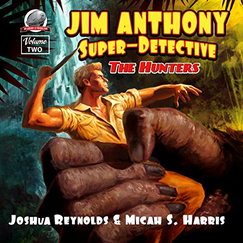 Jim Anthony: Super-Detective audiobook cover art