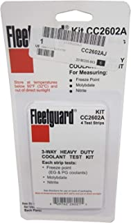 Fleetguard Coolant Analysis Test Kit CC2602A