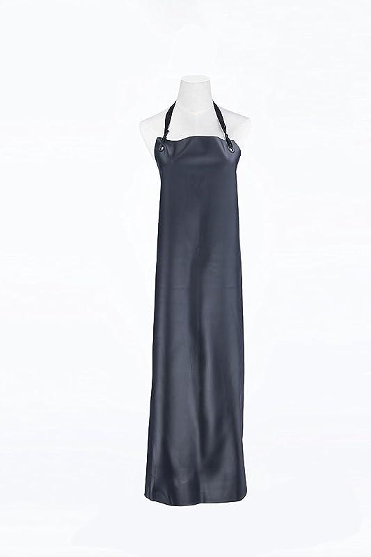 Novo Heavy Duty Leather Apron 47 Inchx35 Inch Black Waterproof Oil Proof Wear Resisting Kitchen Dishwashing Durable Apron Washing Car Apron