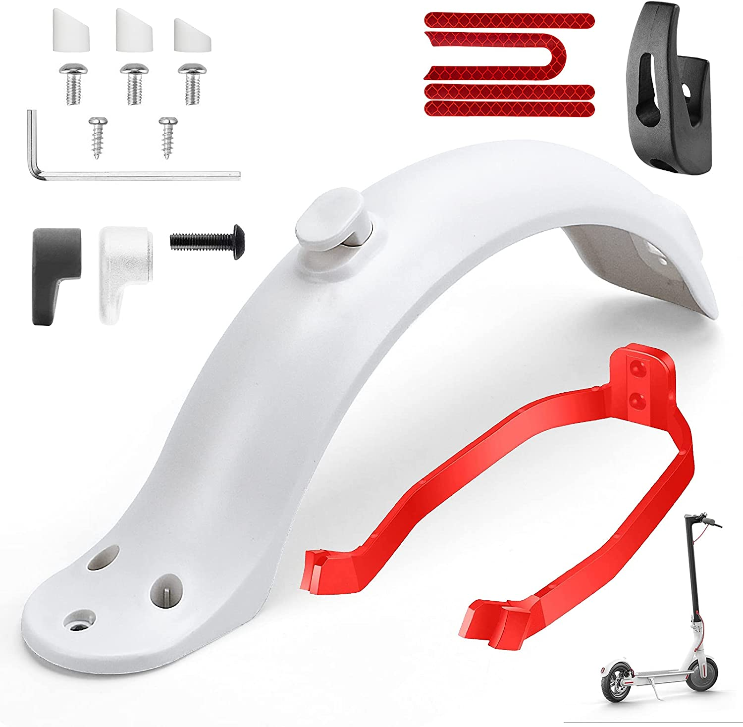 TAGVO Rear Mudguard Inexpensive Fender Bracket Special price Scooter