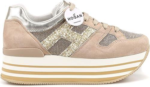 Hogan damen Turnschuhe - Beige Trainers