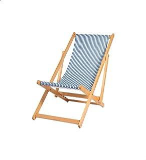 كرسي شاطئ خشب قابل للطي مقلم