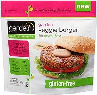 Gardein Garden Veggie Burger, 12 Ounce -- 8 per case.