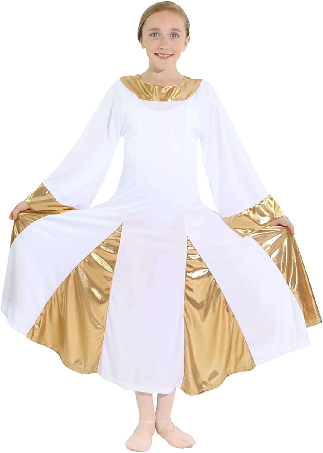 Danzcue Safety and trust Dealing full price reduction Girls Praise Robe Dress