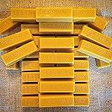 Bienenwachs-Blöcke,100% reines und natürliches Bienenwachs, 32 Stück.