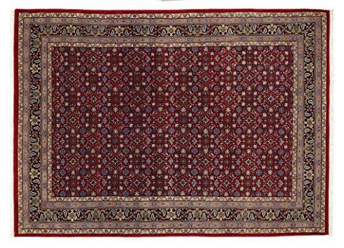 BADOHI HERATI echter klassischer Orientteppich handgeknüpft in rot-blau, Größe: 170x240 cm