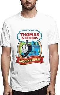 Men's Thomas The Tank Engine & Friends Basic Jogging Short Sleeve T-Shirts