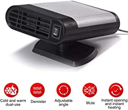 Portable Car Heater Defroster,Womdee 12V 150W Windshield Defogger Defroster,Car Heaters That Plug Into Cigarette,2 in 1 Auto Heater/Cooling Fan Car Windscreen Demister Heater for Easy Snow Removal