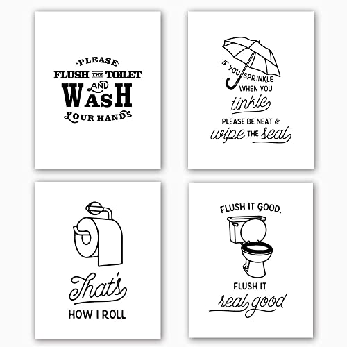 picture about Free Printable Funny Bathroom Signs called Lavatory Indicator Amusing: