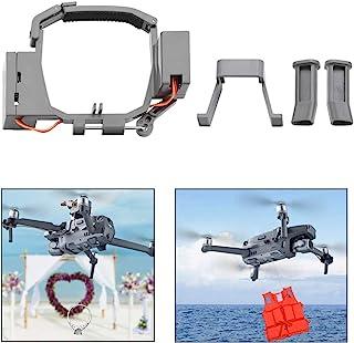O'woda Drone Thrower Airdrop Release Dispositivo de Transporte de Entrega para Boda de Rescate de búsqueda de Cebo de Pesca Compatible con Mavic Pro / Zoom Drone Accesorio (NO para dji Mavic 2 Pro)
