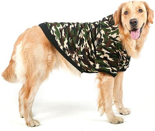colores increíbles Algodón perro de camuflaje sudadera sudadera sudadera con capucha  ventas en linea