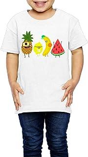 果物 キャラクター コレクション 子供服 キッズ 半袖 Tシャツ 綿100% 5-6 Toddler
