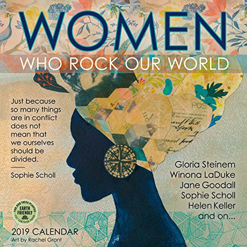 Women Who Rock Our World 2019 Wall Calendar