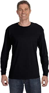 Hanes Mens 6.1 oz. Tagless ComfortSoft Long-Sleeve T-Shirt (5586)