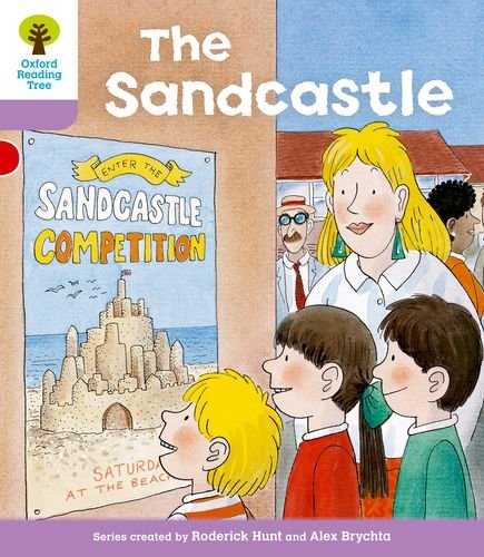 Oxford Reading Tree: Level 1+: More First Sentences B: Sandcastleの詳細を見る