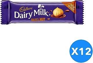 Cadbury Dairy Milk Hazelnut- 12 Pieces, 37 Gm