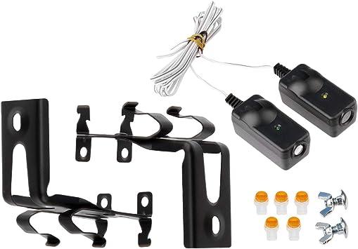 Safety Sensor Beam Eyes For 41a5034 Liftmaster Sears Chamberlain Craftsman Garage Door Opener W Brackets 1 Kit Amazon Ca Electronics