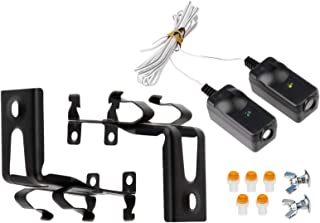Safety Sensor Beam Eyes for 41A5034 Liftmaster Sears Chamberlain Craftsman Garage Door Opener w/ Brackets (1 kit)